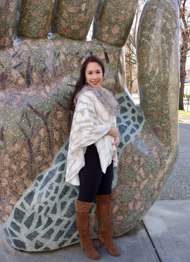 Refashion Runway Faux Fur Challenge