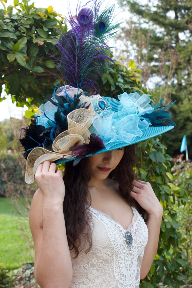 Refashion Runway Kentucky Derby Hat Challenge
