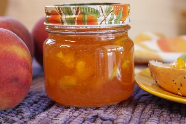 how to preserve peach jam