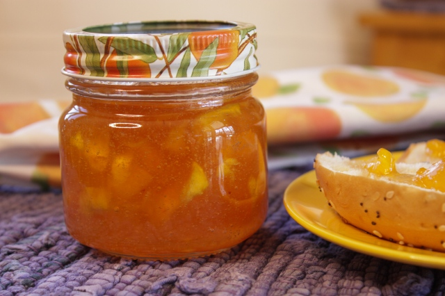 how to make and preserve peach jam