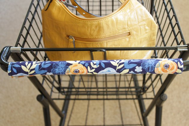 DIY Washable Shopping Cart Handle Cover