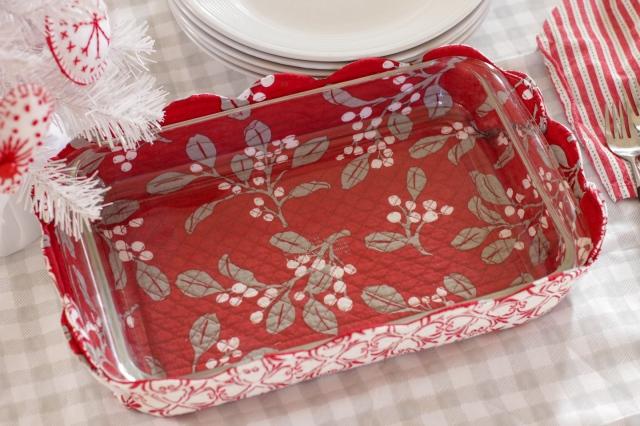 diy fabric hot dish basket