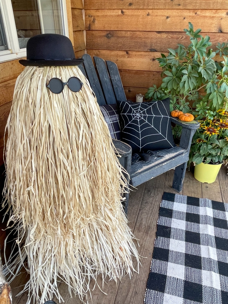 DIY Life size Cousin Itt from The Addams Family