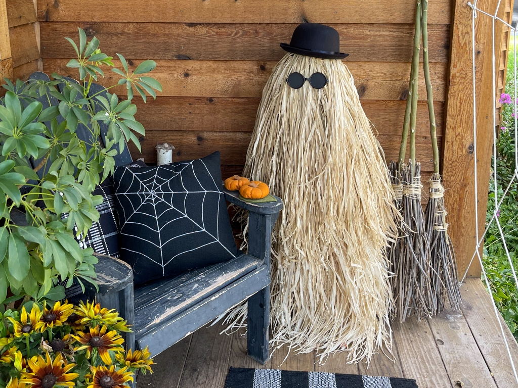 DIY Life Sized Cousin Itt from The Addams Family