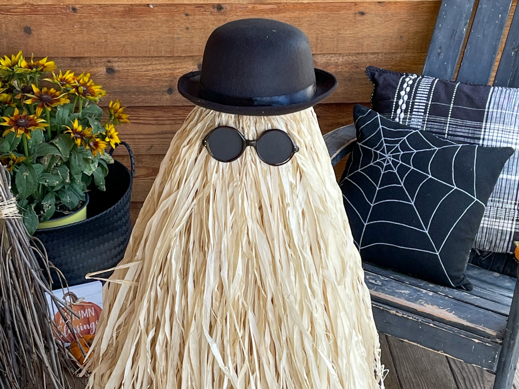 DIY Life-Sized Cousin Itt from The Addams Family